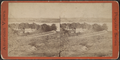 Stage road and hotel view from old Fort Ty. Vermont in distance, from Robert N. Dennis collection of stereoscopic views.png