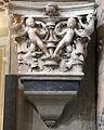Stagio stagi, capitello del duomo di pietrasanta con putti e mascheroni 01.JPG