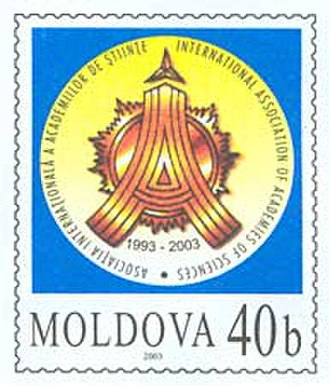 Academy of Sciences of Moldova - Image: Stamp of Moldova md 033st