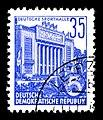 Stamps GDR, Fuenfjahrplan, 35 Pfennig, Buchdruck 1953, 1957.jpg