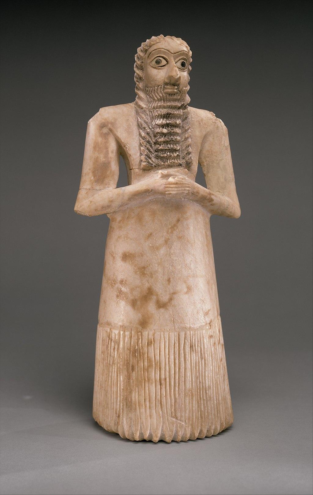 Sumerian Standing Male Worshiper (MET)