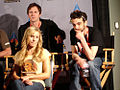 Star Wars Celebration IV - Fanboys press conference, director Kyle Newman, Kristen Bell, Jay Baruchel.jpg