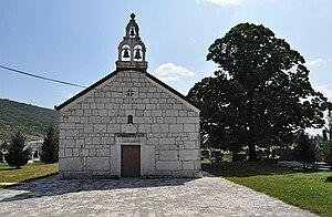 Ljubinje - Church of the Nativity of the Virgin in Ljubinje