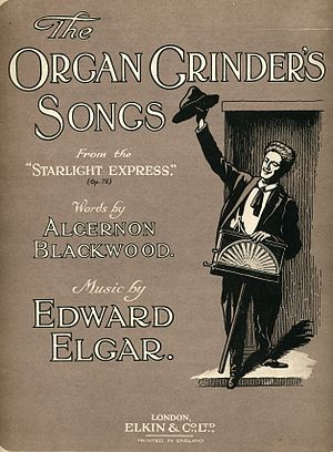 The Starlight Express - Charles Mott as the Organ Grinder