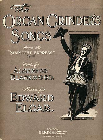 The Starlight Express - Charles Mott as the Organ Grinder
