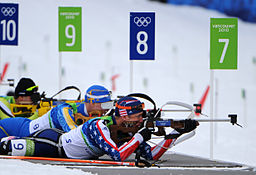 Starting Glitch Costs Teela in 2010 Winter Olympics Biathlon
