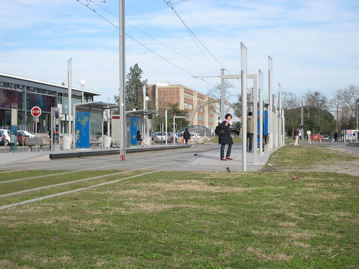 Station arts et m tiers tram de bordeaux wikipedia for Piscine universitaire talence