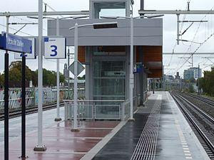 Utrecht Zuilen railway station - Platform 2-3