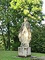 Statue de la Vierge de l'église Saint-Paul de Rignieux-le-Franc.JPG