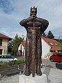 Statue of Bela IV, Dozsa Square, 2016 Dunakeszi.jpg