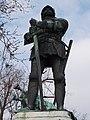Statue of John Hunyadi (upper part). Close to the Fisherman's Bastion. - Buda Castle Quarter, Budapest.JPG