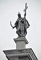 Statue of King Sigismund III Vasa - Sigismund's Column - Castle Square, Warsaw, Poland - 1 Oct. 2009.jpg
