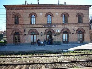 Castelvetro Piacentino - Railway station