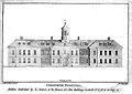 Steeven's Hospital, Dublin, Ireland. Line engraving by J. Lo Wellcome L0002591.jpg