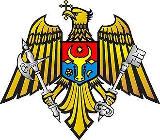 Coat of arms of Moldova - Image: Stema Serviciului de Graniceri