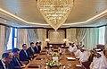 Steven Mnuchin meets with Qatari AG Ali Bin Fetais Al-Marri at Doha.jpg