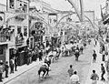Stierengevechten op straat in Portugal, overzicht in de straat te Villa Franca d, Bestanddeelnr 919-3595.jpg