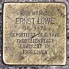 Stolperstein Emilienstr 14 (Marif) Ernst Löwe.jpg
