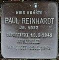 Stolperstein Göppingen-St. Gotthardt, Paul Reinhardt.jpg
