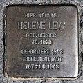 Stolperstein Hagenstr 12 (Liber) Helene Levy.jpg