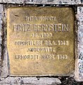 Stolperstein Hohenzollerndamm 201 (Wilmd) Fritz Bernstein.jpg