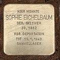 Stolperstein Joachim-Friedrich-Str 57 (Halsee) Sophie Eichelbaum.jpg