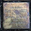 Stolperstein Karl-Marx-Allee 18 (Mitte) Ruth Schwarzer.jpg