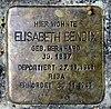 Stolperstein Lynarstr 9 (Grune) Elisabeth Bendix.jpg