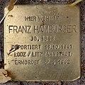 Stolperstein Pariser Str 13 (Wilmd) Franz Hamburger.jpg