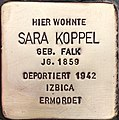 Stolperstein Sara Koppel.jpg