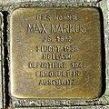 Stolperstein Wandsbeker Chaussee 5 in Hamburg-Eilbek.JPG