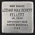 Stolperstein für Lothar Max Robert Fellert.JPG