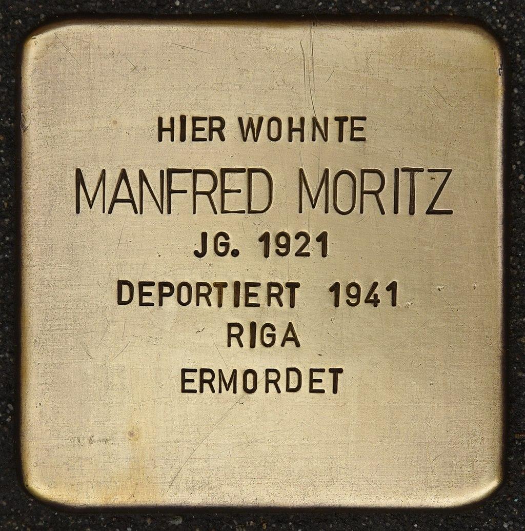 Stolperstein für Manfred Moritz (Miltenberg).jpg