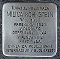 Stolperstein für Milica Kohnstein.JPG