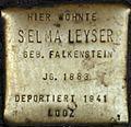 Stolpersteine Köln, Selma Leyser (Aachener Straße 28).jpg