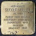 Stolpersteine Krefeld, Rudolf Müller (Hohenzollernstraße 79).jpg