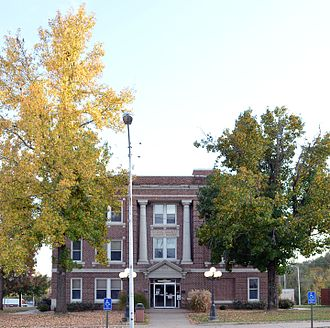 Stone County, Missouri - Image: Stone County MO Courthouse 20151021 050