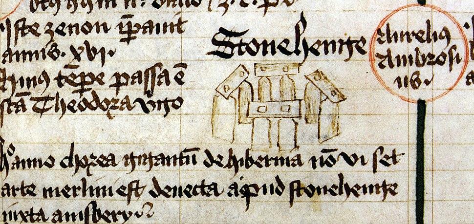 Stonehenge 1441 drawing