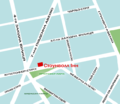 Stonewall Inn in Greenwich Village map. ukr.png