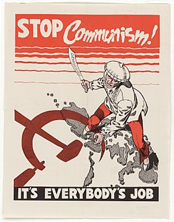 American political strategy against spread of communism