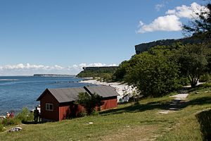 Stora Karlsö - Image: Stora Karlso and Lilla Karlso