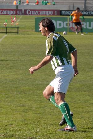 Vlada Stošić - Stošić in Betis gear in 2013
