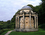 The Temple of Apollo at Stourhead