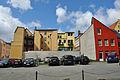 Stralsund, Ossenreyerstraße, Ecke Böttcherstraße, Hof (2012-05-12), by Klugschnacker in Wikipdia.jpg