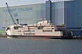 Stralsund, Volkswerft, Scandlines-Fähre Berlin, 9 (2012-01-26) by Klugschnacker in Wikipedia.jpg
