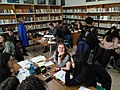 Studenti wikipediani nella sezione lucana della Biblioteca Provinciale di Potenza.jpg