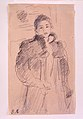 "Study for ""Young Girl in a Green Coat"" MET sf-rlc-1975-1-674.jpeg"