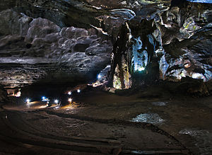 Sudwala Caves - Another view deeper into the caves