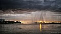 Sunset at the Schelde - just before I got soaked! (7772691926).jpg