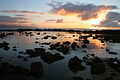 Sunset over Sharks Cove, North Shore Oahu Hawaii.JPG